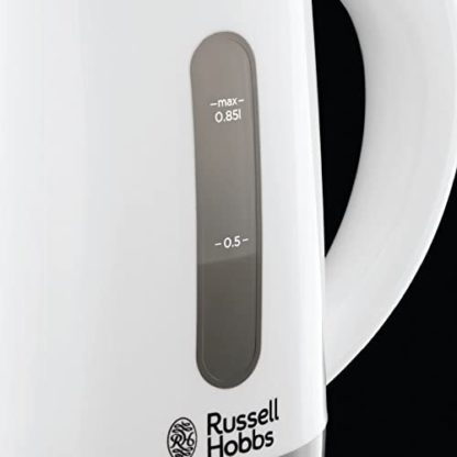 Russell Hobbs 23840 Compact Travel Electric Kettle, 0.85L, 1000 W, White